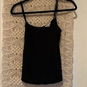 Black tank from Madewell